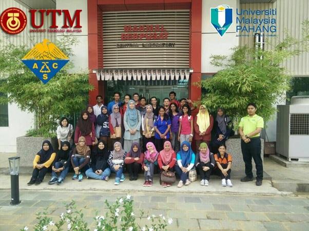 ACS Student Chap Ind Visit