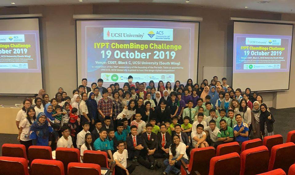 IYPT Chembingo Challenge Oct 2019